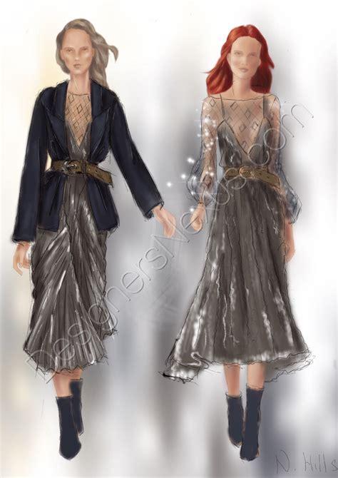 fashion sketches drawing illustration  designers nexus