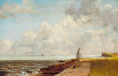 harwich lighthouse john constable exhibited  tate