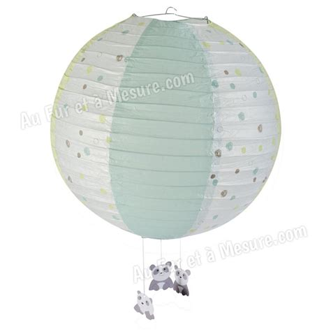 suspension papier diam 232 tre 40 cm pandi panda domiva