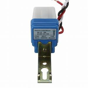 Photocell Street Light Photoswitch Sensor Auto On Off