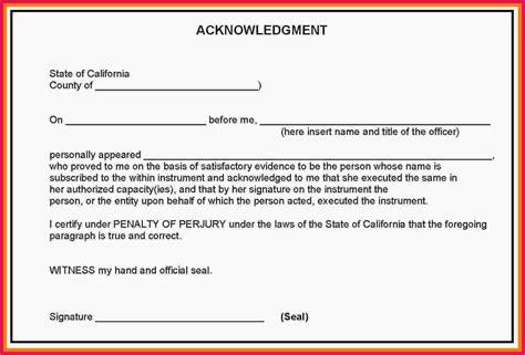 notary signature block template sle notary signature block sop exles