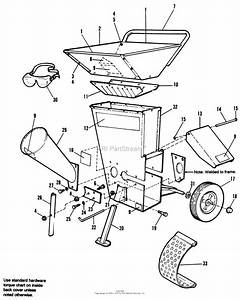 Simplicity 1692335  12 Chipper  Shredder Parts Diagram
