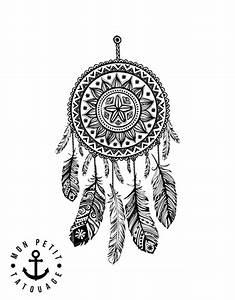 Tatouage Attrape Reve Homme : tatouage attrape r ves dreamcatcher 1 motif mon petit ~ Melissatoandfro.com Idées de Décoration