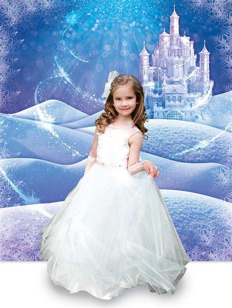 Winter Princess Photo Scene   Giant Photo Background ...