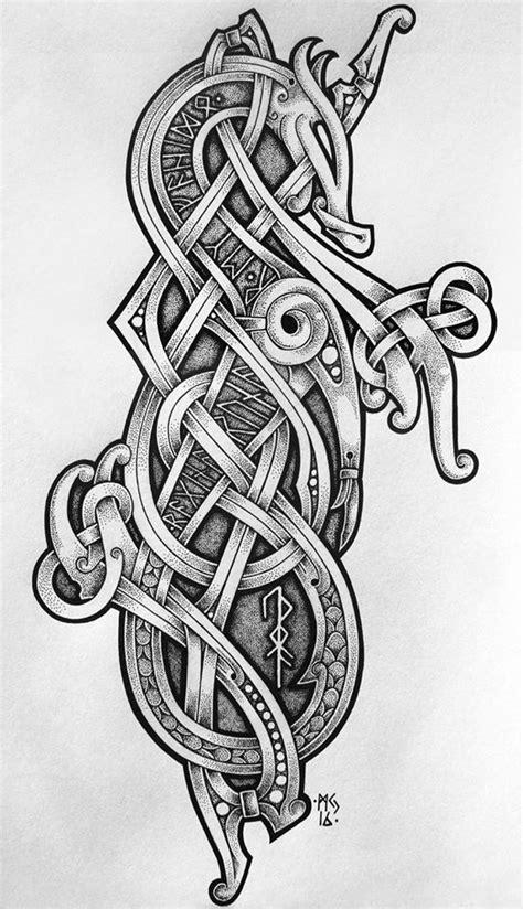 25 bästa idéerna om viking tattoo symbols på pinterest