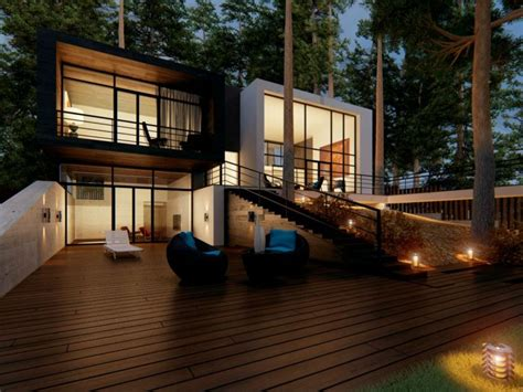 decoration exterieur pour balcon  veranda en  idees