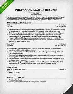 prep cook and line cook resume samples resume genius With cook resume template