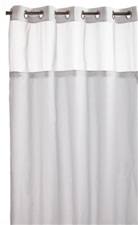 white water repellent fabric shower curtain liner hotel