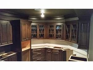 kitchen cabinets kitchen cabinets by crown molding nj With best brand of paint for kitchen cabinets with rock crystal candle holders