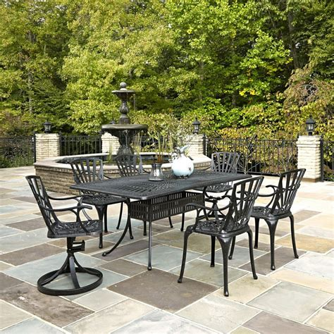 home styles largo 7 patio dining set the home