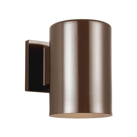 sea gull lighting outdoor cylinders 1 light bronze outdoor