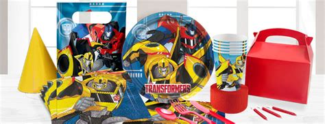transformers party supplies party delights