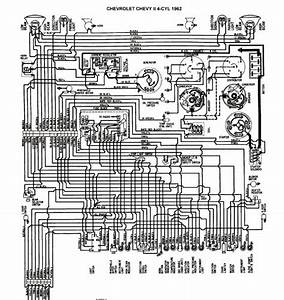 Free Auto Wiring Diagram  1962 Chevrolet Chevy Ii    Nova