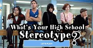 Quiz: What's Your True High School Stereotype?