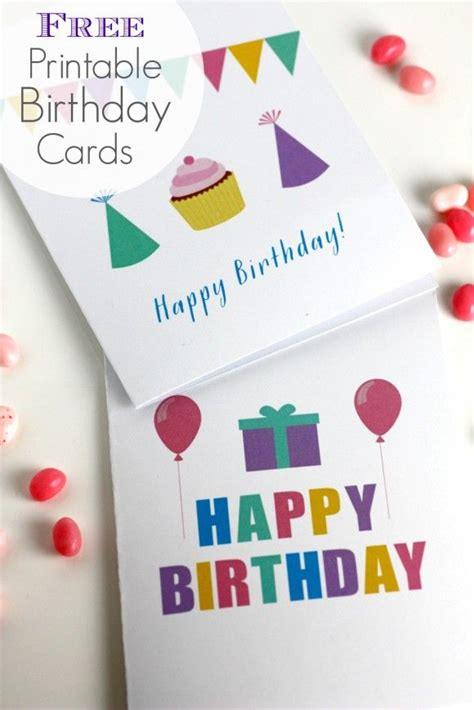 easy birthday card template free printable blank birthday cards from catchmyparty