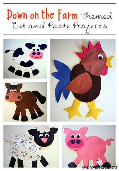farm crafts bundle child care farm animal crafts farm 294 | 802ddda85414c12786c6c0aab67262e8