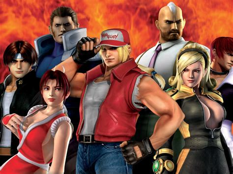 king  fighters maximum impact  wallpapers hd