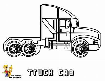 Coloring Trucks Truck Haul Yescoloring Wheelers Move