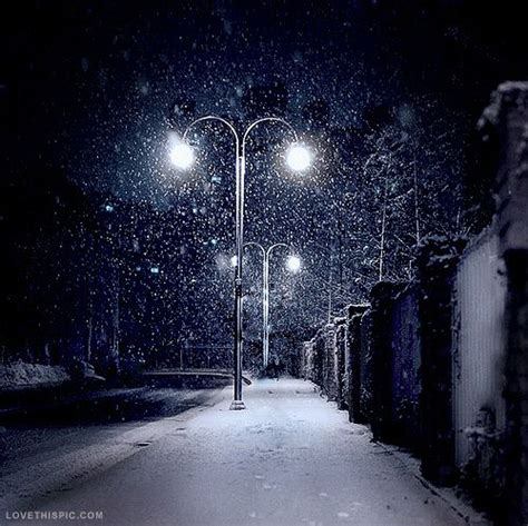 Snow Lights by Snowing At Photography Lights Snow Winter