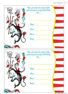images  diy dr seussfree printablesparty