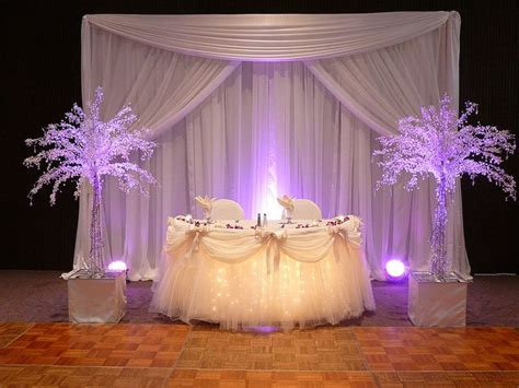 Sweetheart Or Head Table Decor Decor By Sbd Events