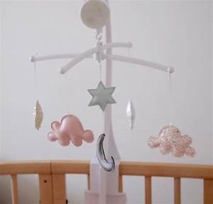 Mobile Bébé Nuage : mobile nuage pour la chambre de b b flo les mains blog diy ducation positive z ro d chet ~ Teatrodelosmanantiales.com Idées de Décoration
