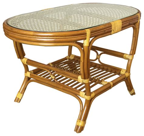 tropical round coffee table magnificent rattan coffee tables
