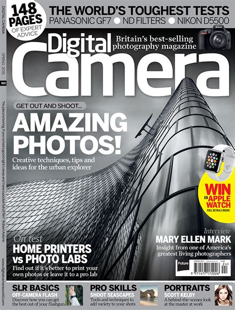 My Picture Is On The Cover Of The Digital Camera World's