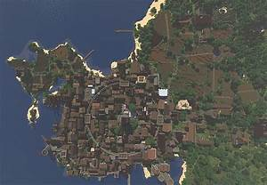 Medieval Port City Minecraft Project