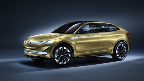 Updated Skoda Vision E Debuts