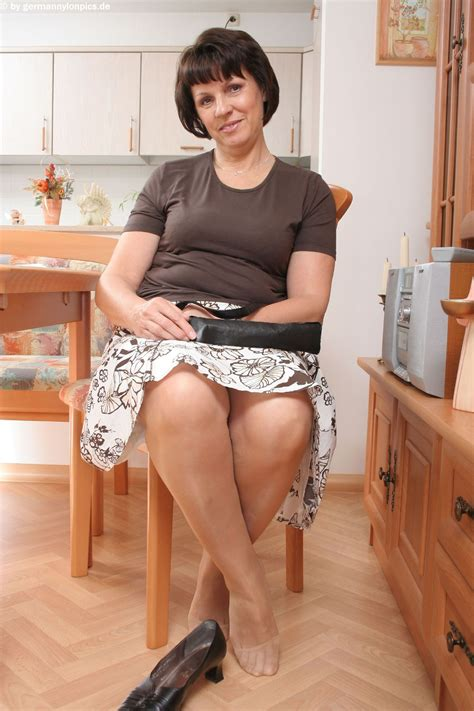 In Gallery Milfs Feet In Tan Pantyhose Picture Uploaded By Cp On