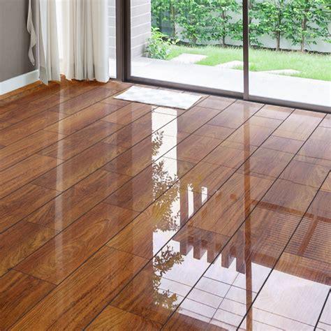 glossy wooden floor falquon high gloss 4v 8mm plateau merbau high gloss flooring leader floors