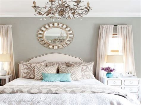 Decorating Your Bedroom Walls, Turquoise And White Bedroom