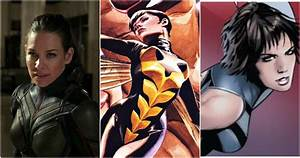 Avengers, Every, Wasp, Costume, Ranked