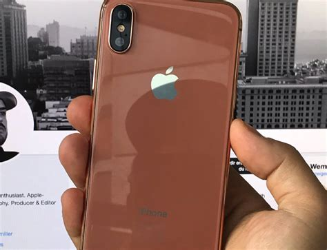 iphone new color new iphone 8 color could be named blush gold cult of mac