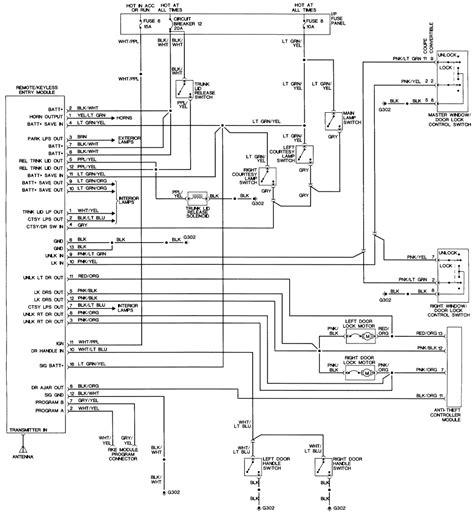remote start wiring diagrams auto command starter diagram