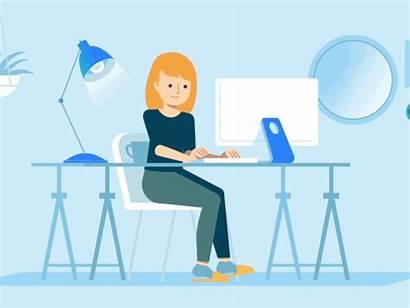 Job Animation Homebase Company Explainer Gifs Management