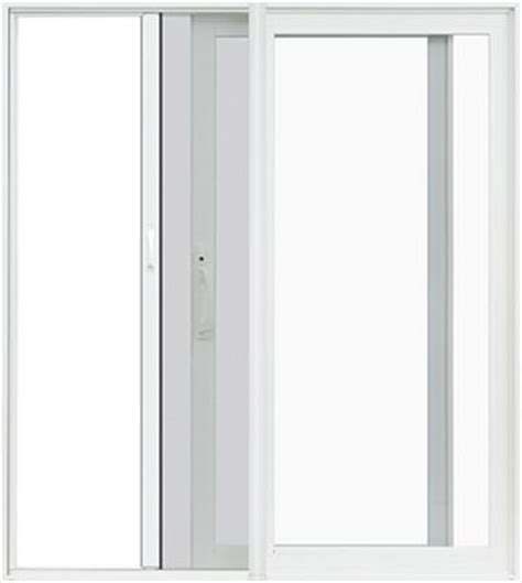 pella 174 premium vinyl sliding patio doors now with