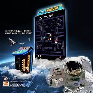 Namco World's Largest Pac-Man Arcade Game   Game Room Guys
