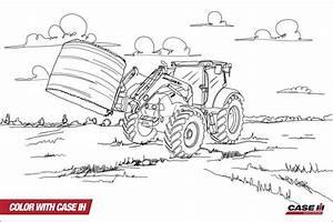 Kleurplaat Peuter Kleurplaat Tractor