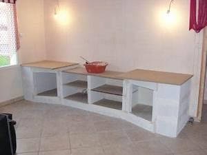 meuble beton cellulaire encore tout et rien With meuble en beton cellulaire