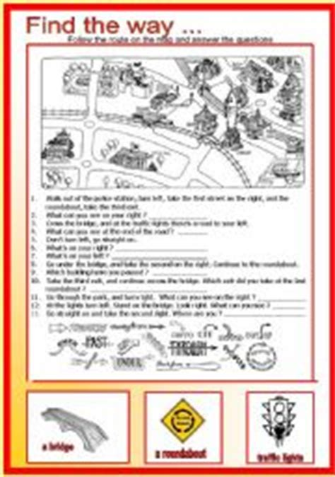 worksheets find the way