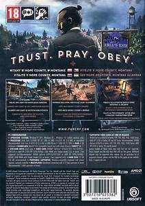 Far Cry 5 (2018) PlayStation 4 box cover art - MobyGames