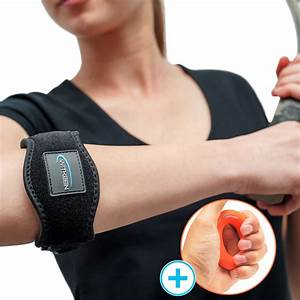 Premium Bundle With Best Tennis Elbow Support And 100