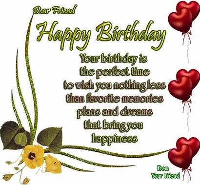 Poems Birthday Happy Poem Friend Friends Quotes