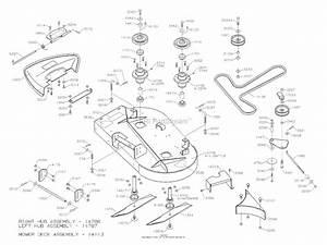 Dixon Zeeter 36  2004  Parts Diagram For Mower Deck