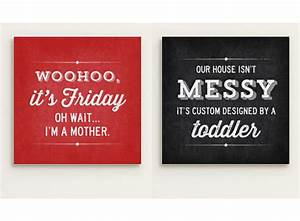Tinyme new canvas quotes wall art