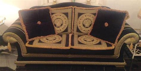 divano versace black and gold versace style sofa not versace catawiki