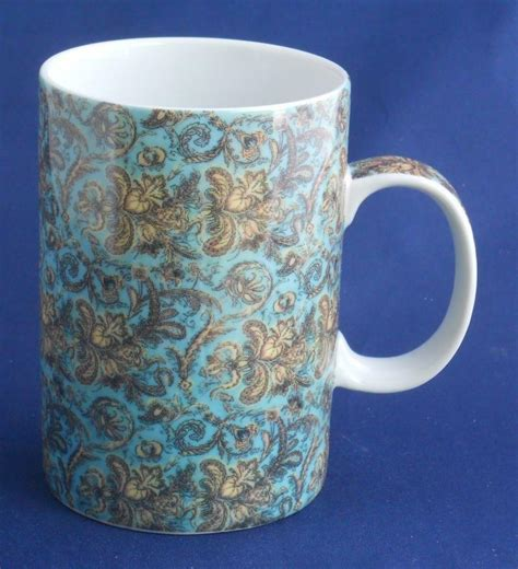 Find unique coffee cups at uncommon goods. World Market Floral Coffee Cup Mug | eBay