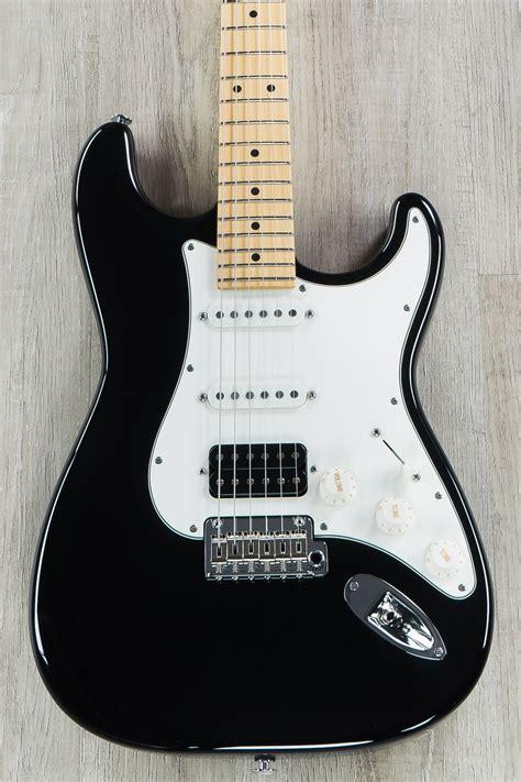 suhr classic pro hss guitar black maple fretboard sscii
